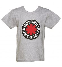 Kids Grey Marl Red Hot Chili Peppers T-Shirt [View details]