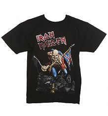Kids Black Iron Maiden Trooper T-Shirt [View details]